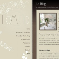Home ID website and logo