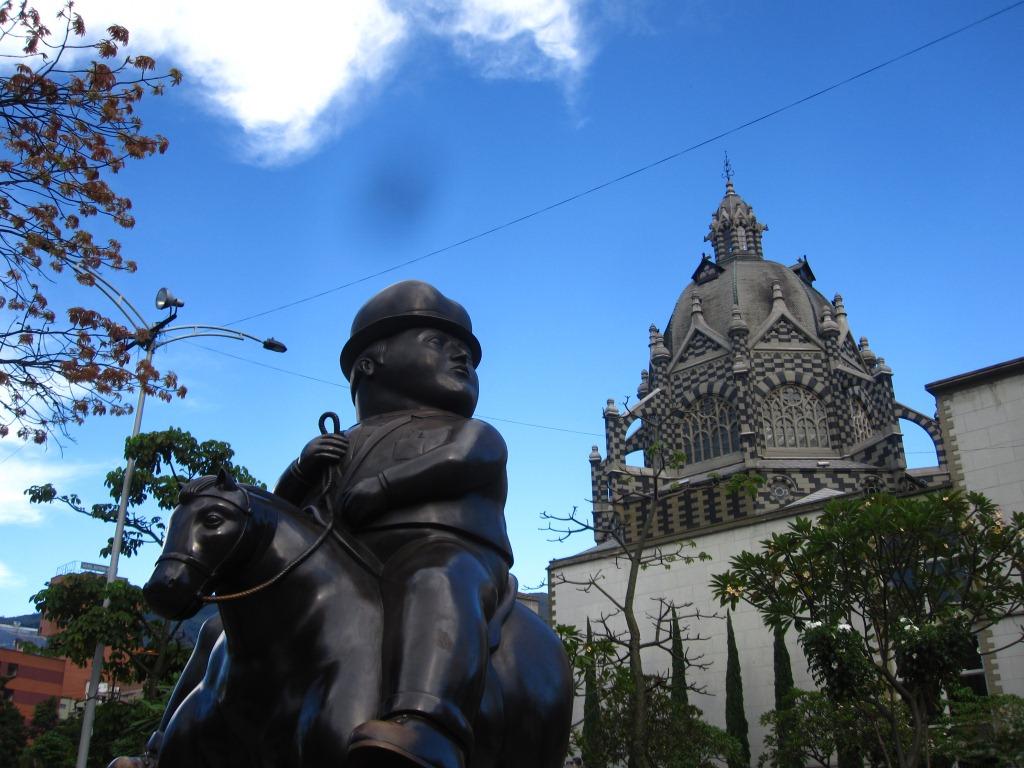 Medellin centre, sculpture de Botero