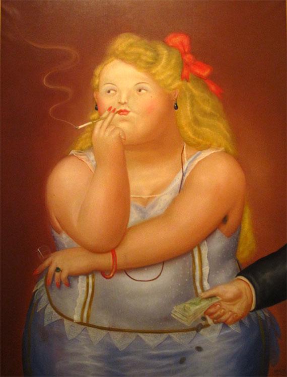 Rosita, 1973 - Huile sur toile