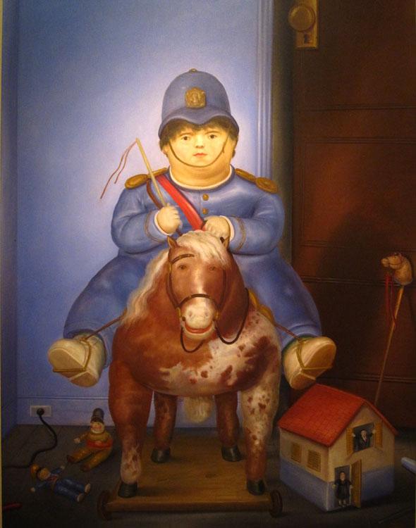 Pedro, 1974 - Huile sur toile