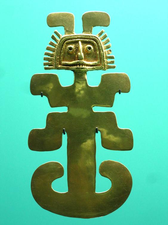 Bijou Calima (100 - 1000) Andes, versant Pacifique