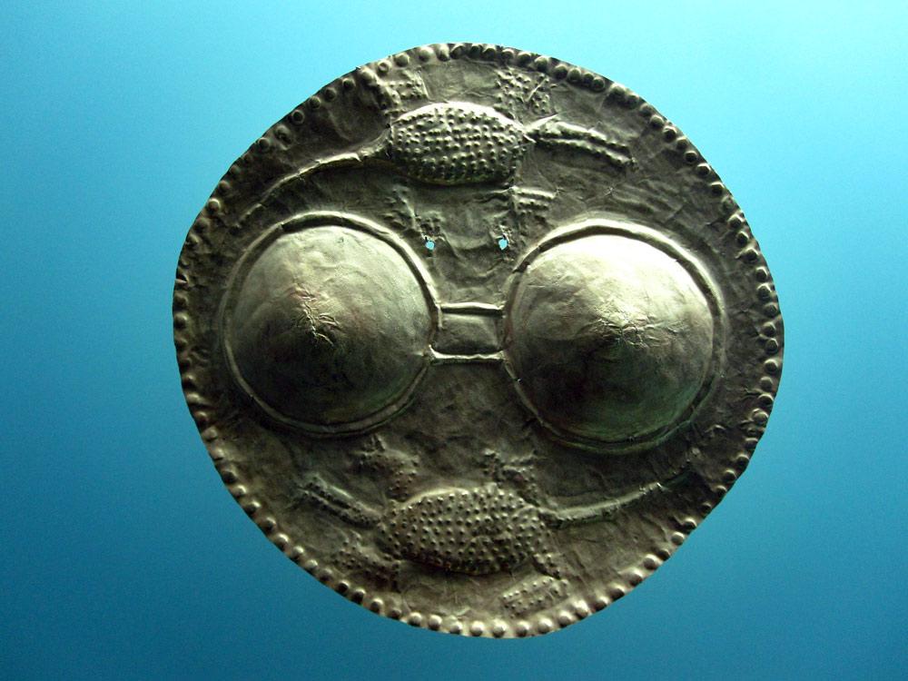 Pectoral mammiforme (450 - 1500) côte caraïbe et plaines marécageuses