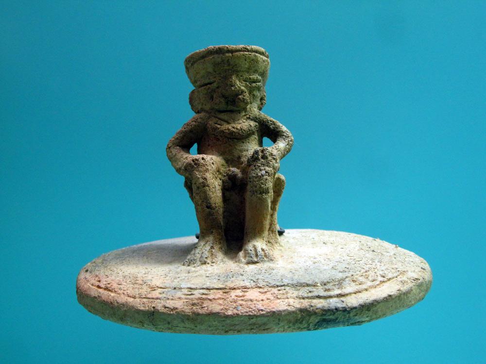 Sculpure Zenu (450 - 1500) côte caraïbe et plaines marécageuses