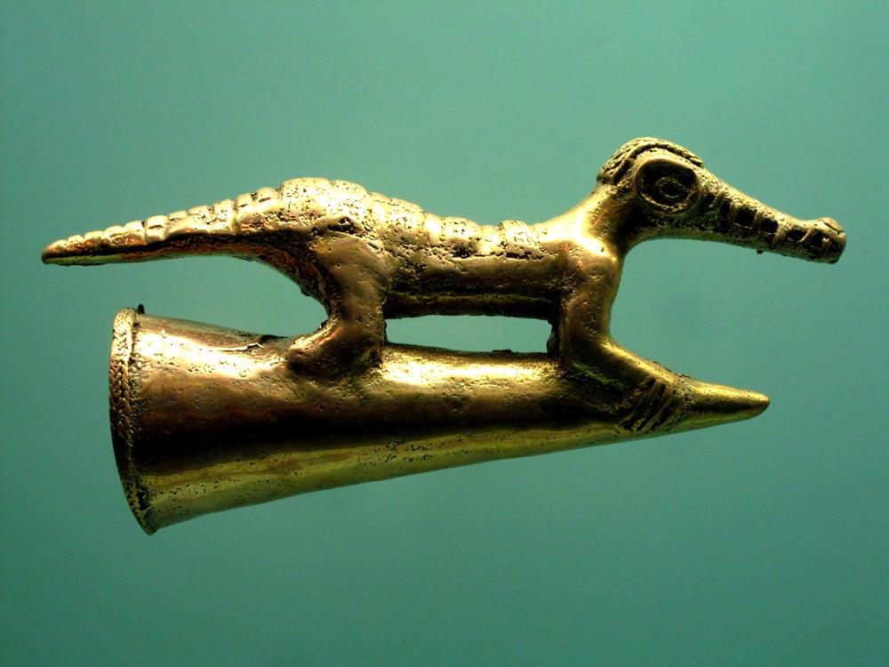 Crocodile Zenu (450 - 1500) côte caraïbe et plaines marécageuses