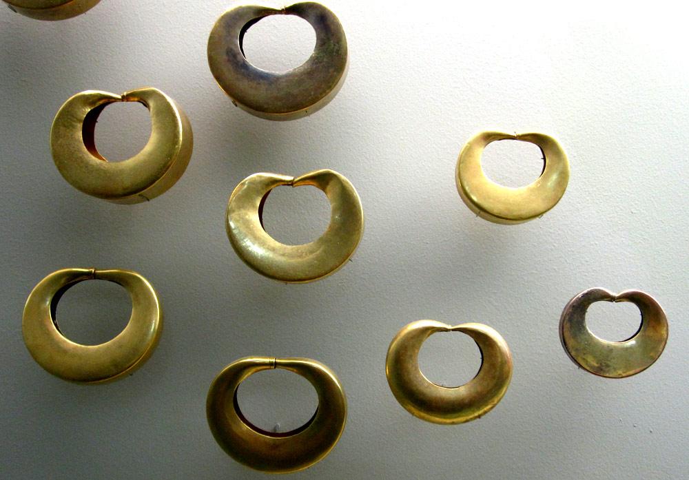 Bijoux Tayrona (400 - 1500) nord de la côte caraïbe