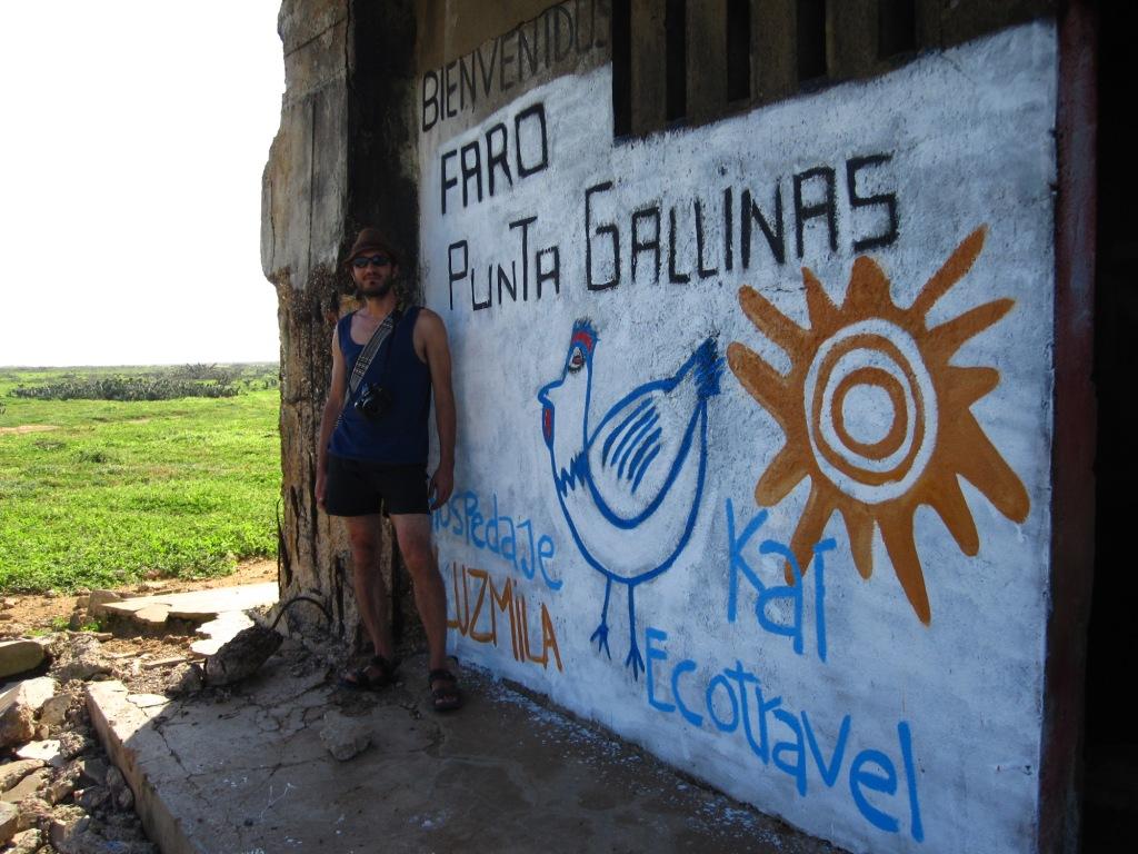Punta Gallinas, le phare