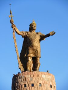 Statue de Pachacutec