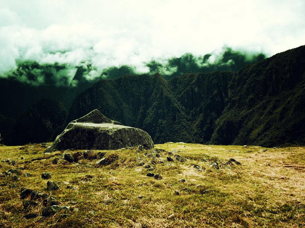 Machu Picchu, autel cérémoniel