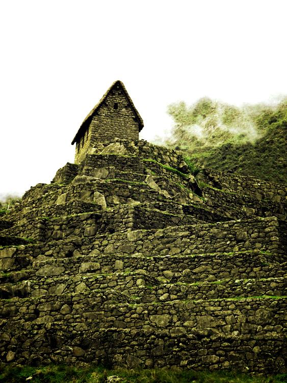 Machu Picchu, maison du gardien