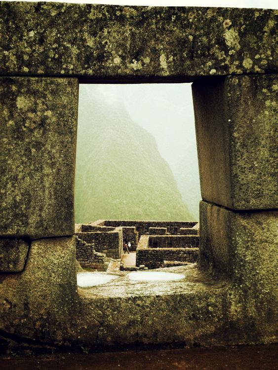 Machu Picchu, une des 3 fenêtres