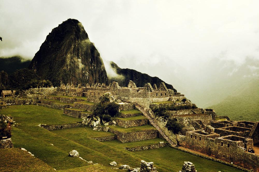 Machu Picchu, esplanade principale