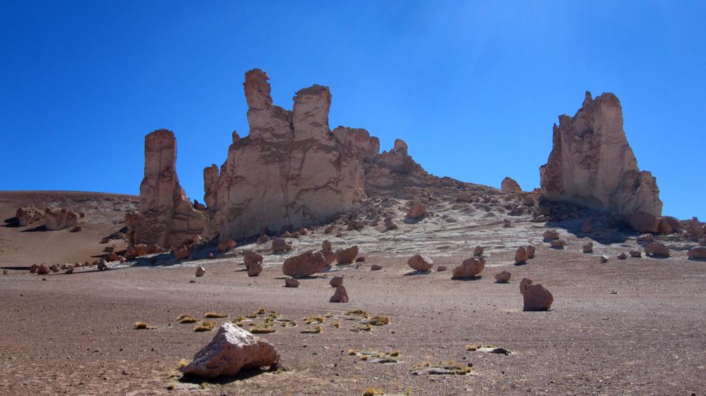 Cathédrale de pierre, salar de Tara