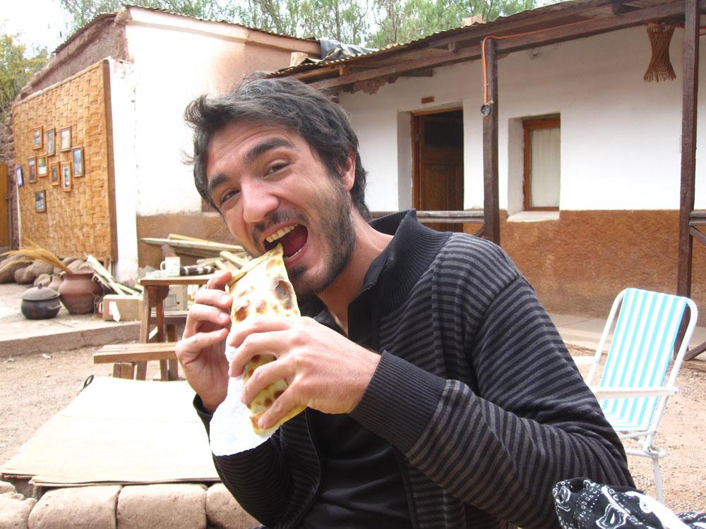 Dernier empanada à San pedro