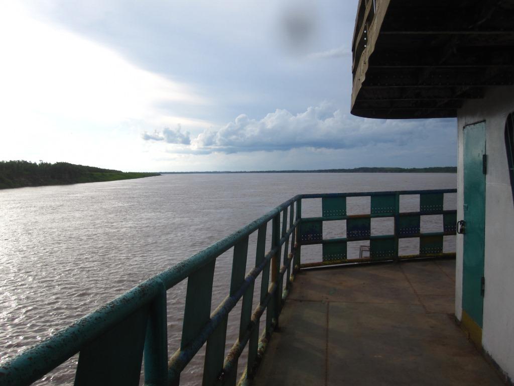 Le pont supérieur avant