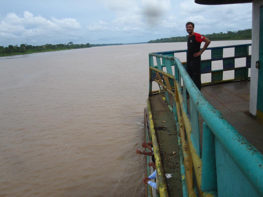 Le pont supérieur après
