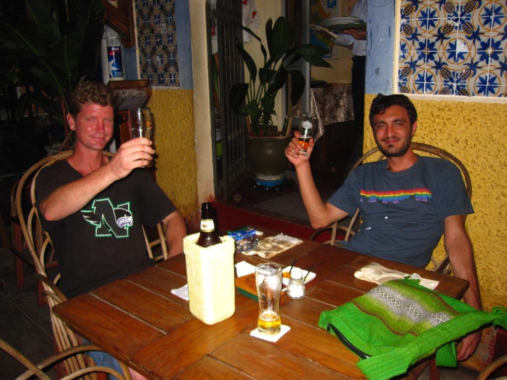 Bière(s) avec Aaron