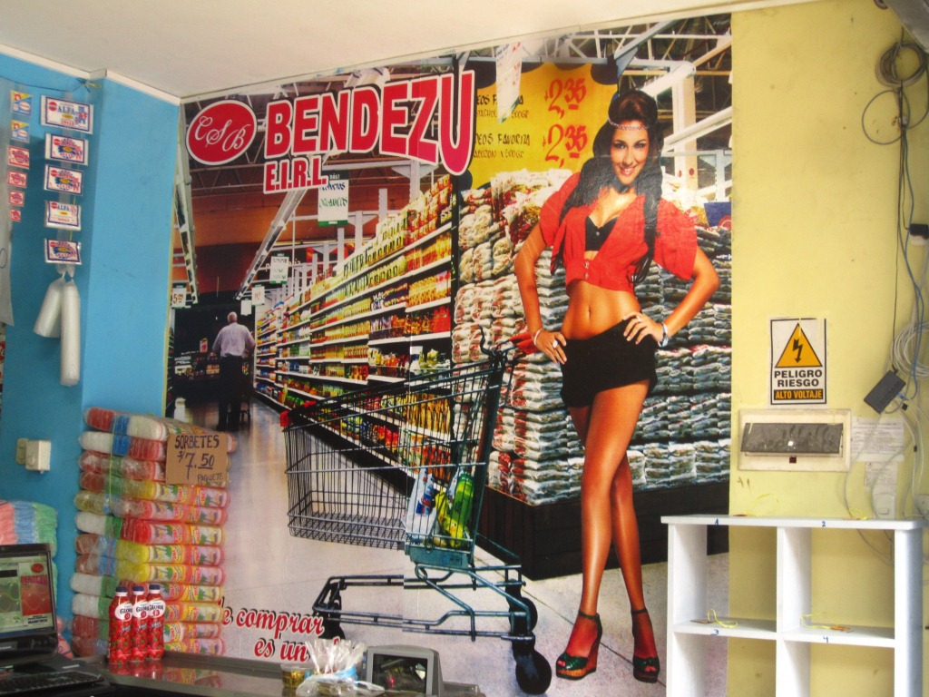 Publicité ou le machisme péruvien ordinaire