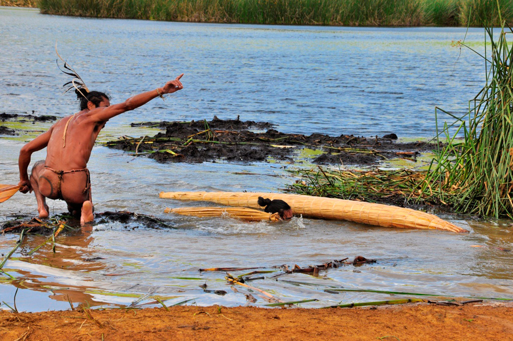 Tapati, arrivée du triathlon