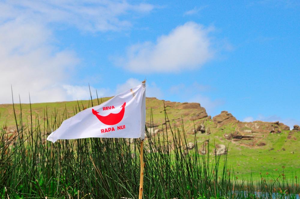 Le drapeau Rapa Nui