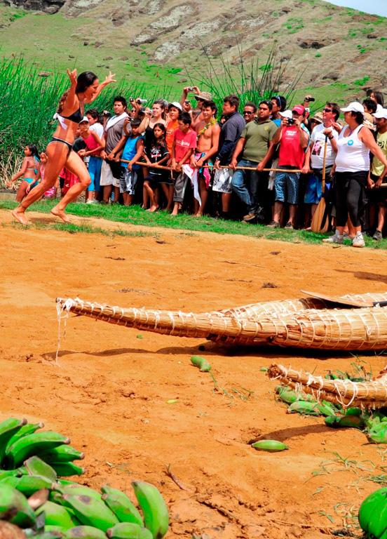 Tapati, arrivée de la natation féminine