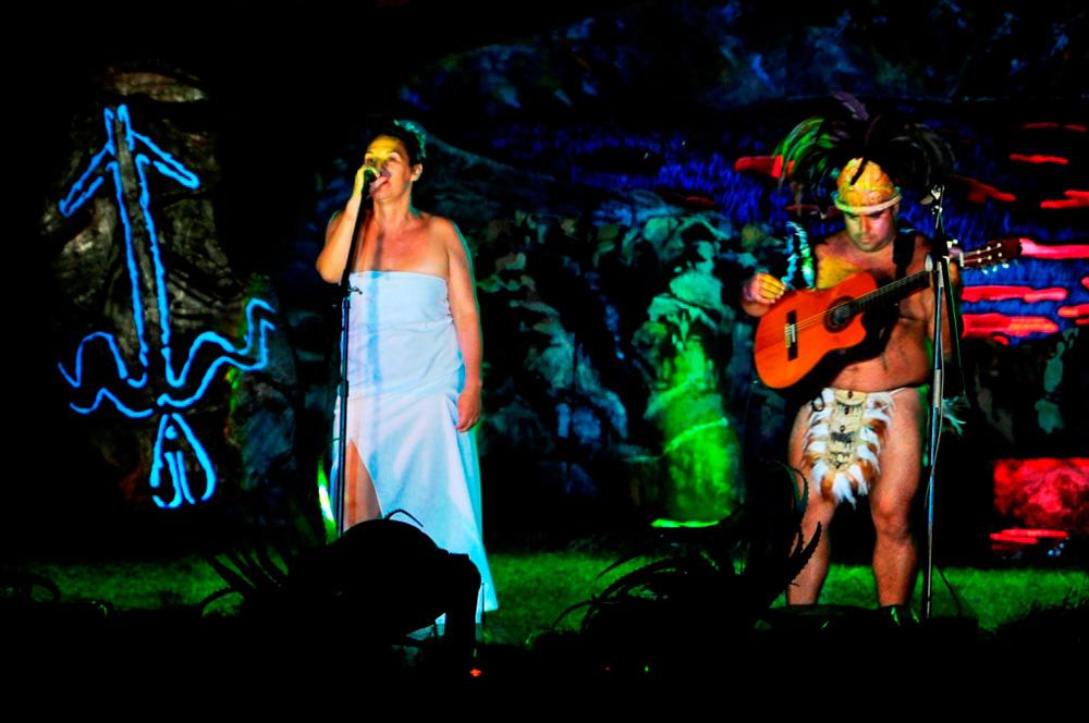 Tapati, concours de chant individuel, chanteuse représentant Céline