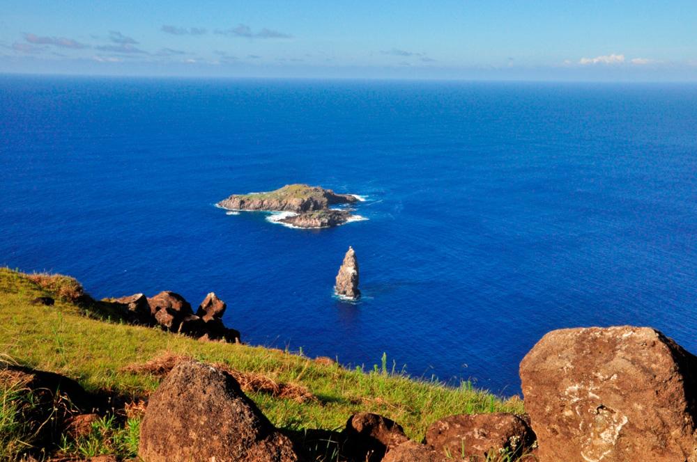 Motu Nui, îlots au large du volcan Rano Kau
