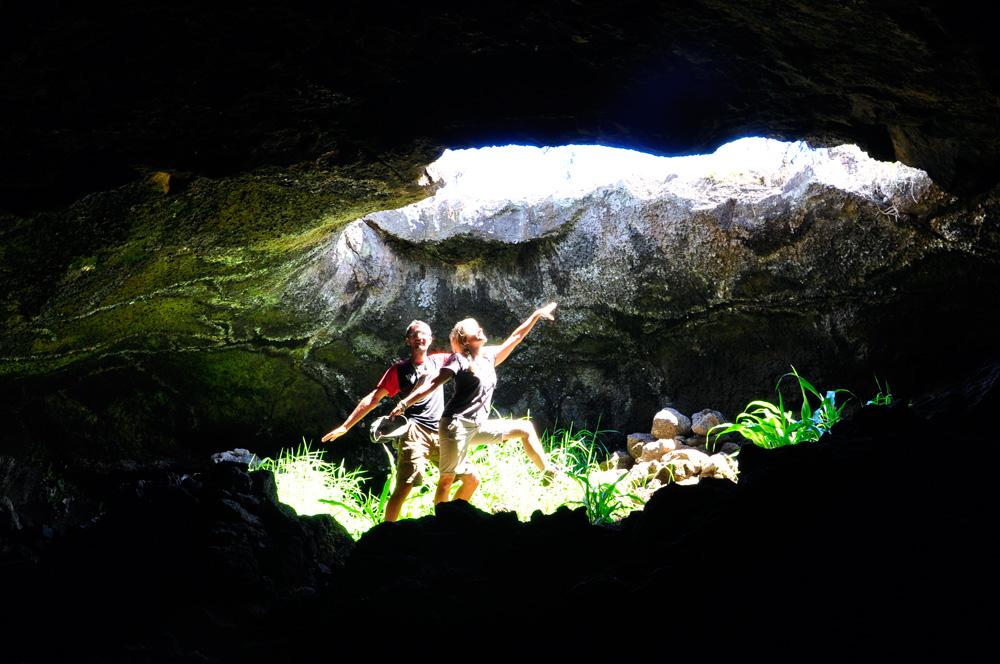 La grotte aux bananiers
