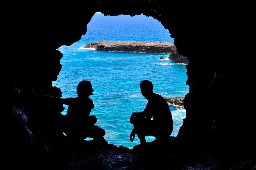 La grotte aux 2 fenêtres