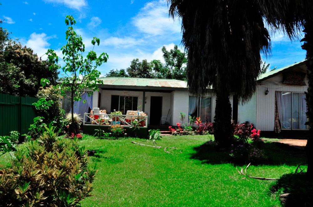 La maison de Nancy et Patricio où nous avons logé