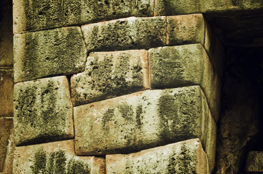 Un mur en pierre à Tambomachay