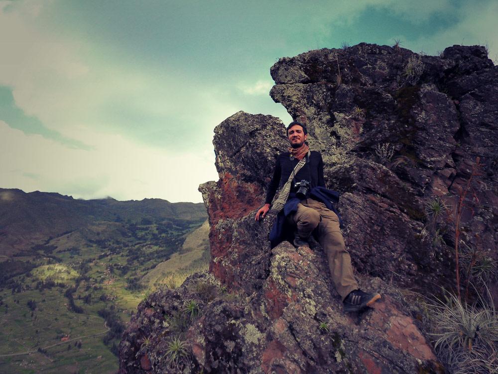 La pause sur le rocher