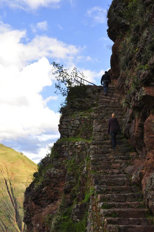 Balade pour se rendre aux ruines de Pisac