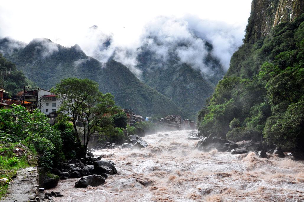 La tumultueuse rivière Urubamba