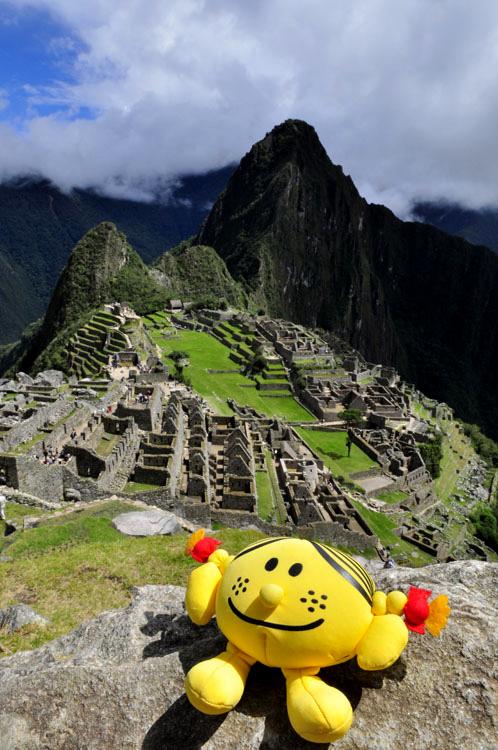 Machu Picchu, Madame bonheur y était !