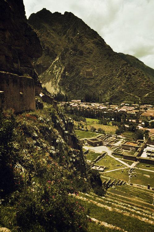 Ollantaytambo, la forteresse dominant le village