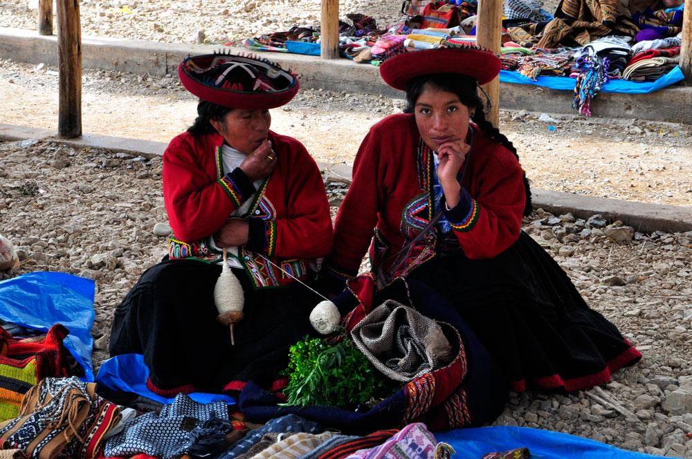Chinchero, le marché d'artisanat