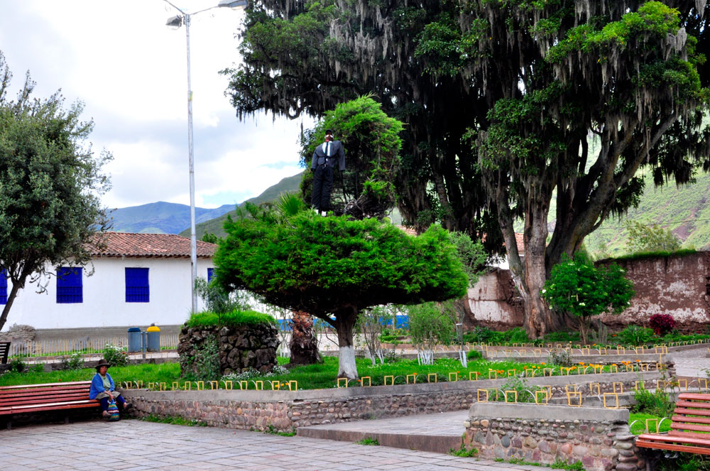 Andahuaylillas, plaza de armas