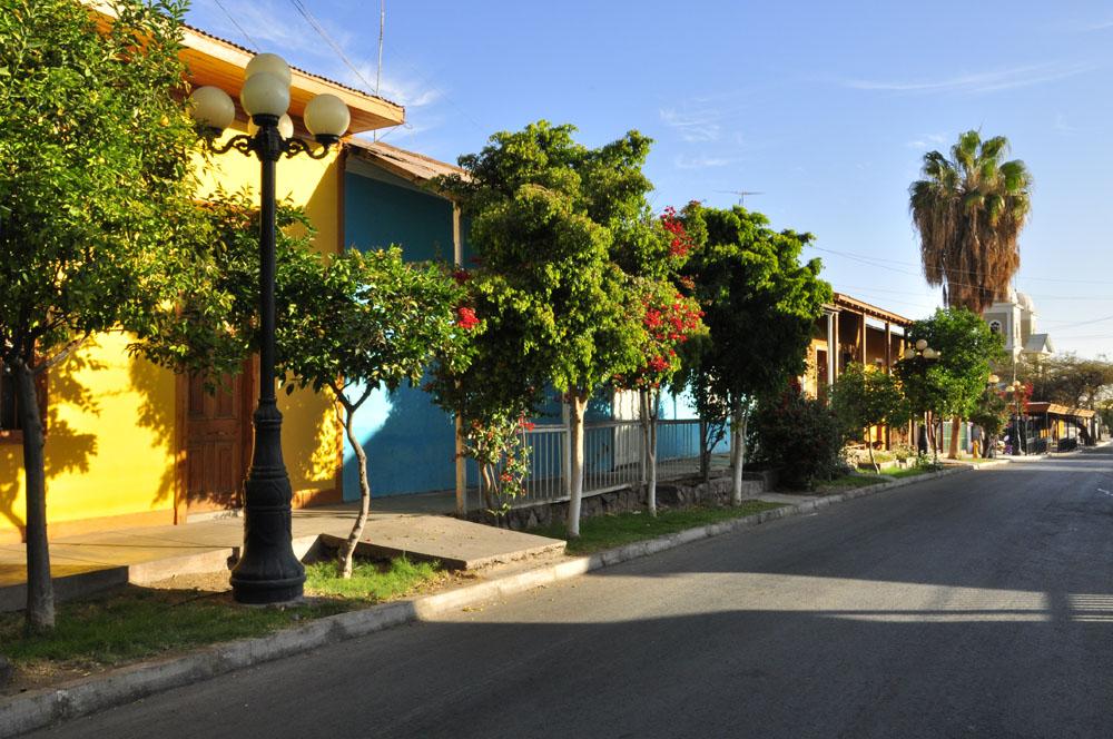 Pica, rue principale