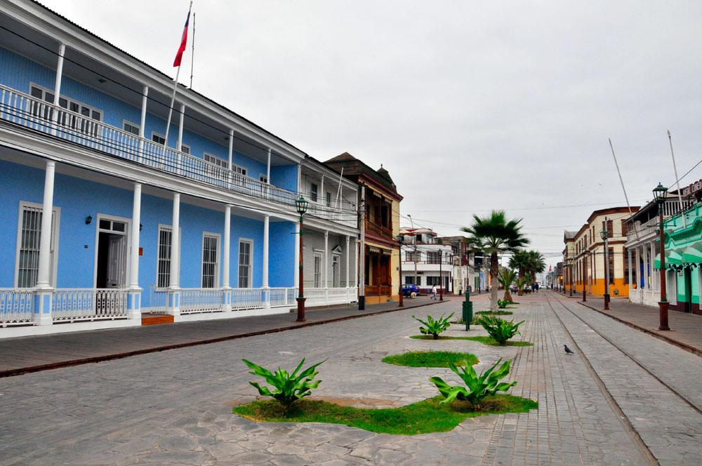 Iquique, paseo Baquedano