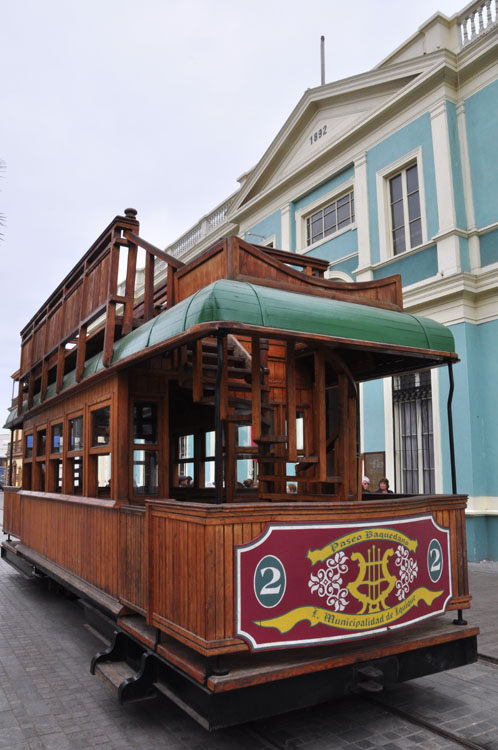Iquique, un wagon