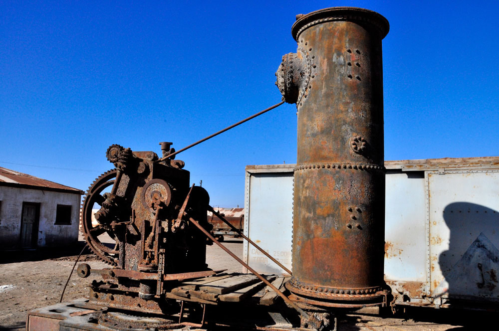 Humberstone, une machine