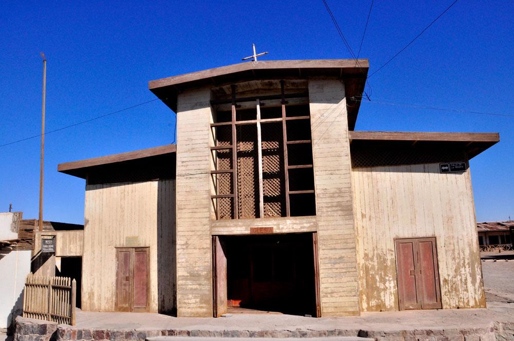 Humberstone, l'église