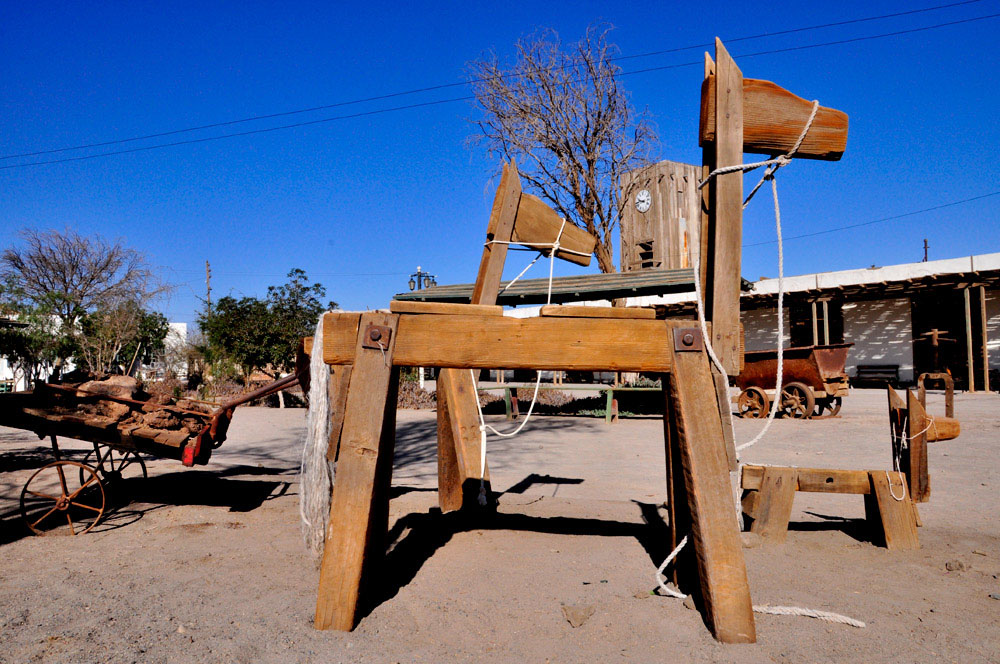 Humberstone, place principale