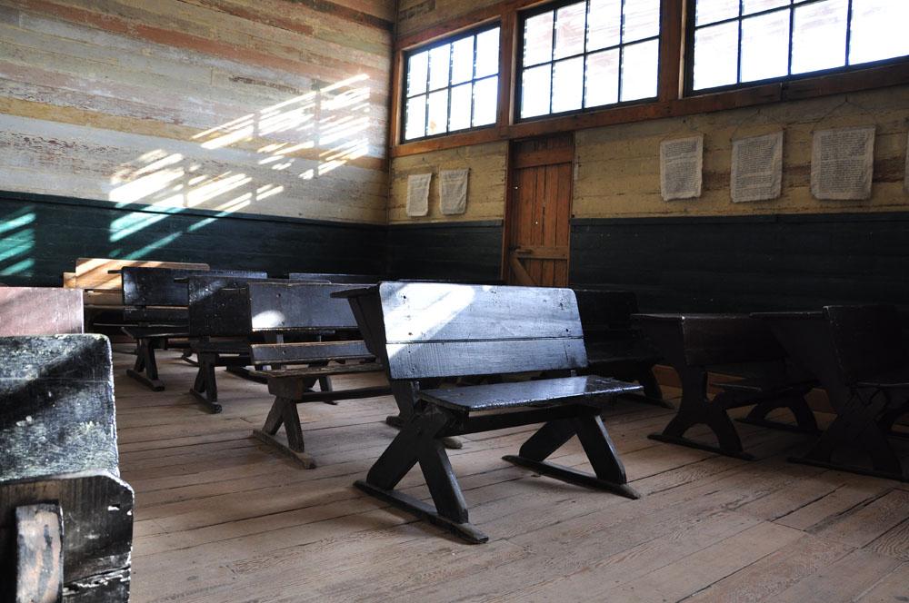 Humberstone, salle de classe