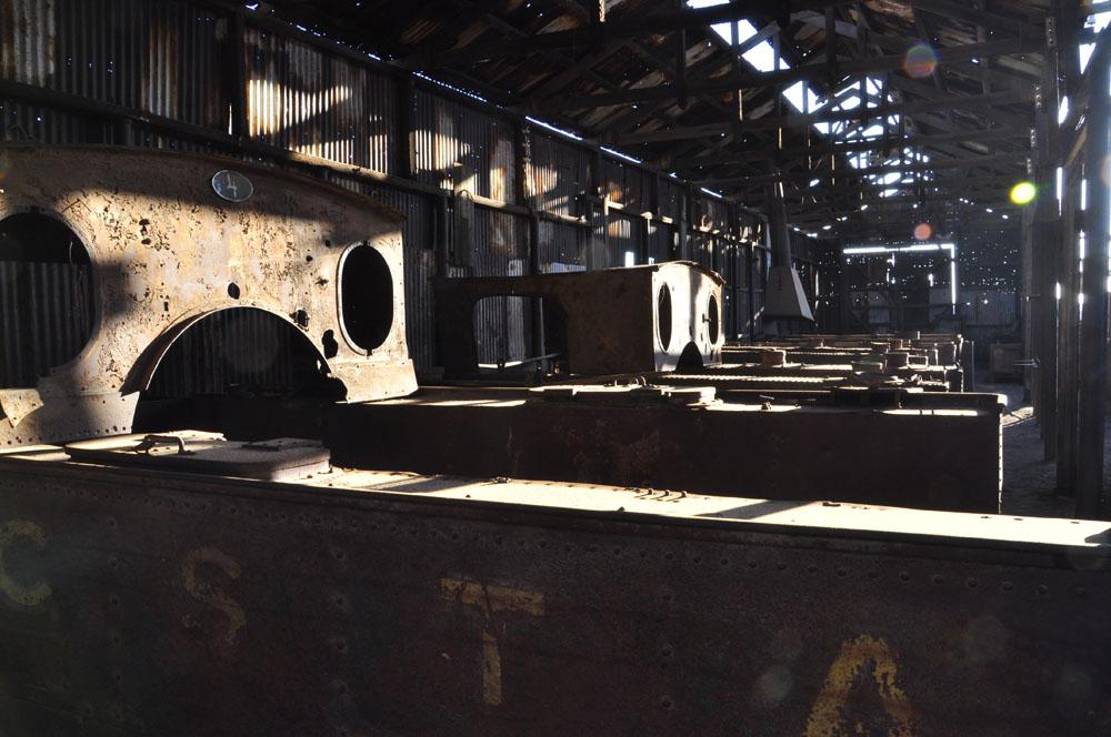 Humberstone, des vieilles locos