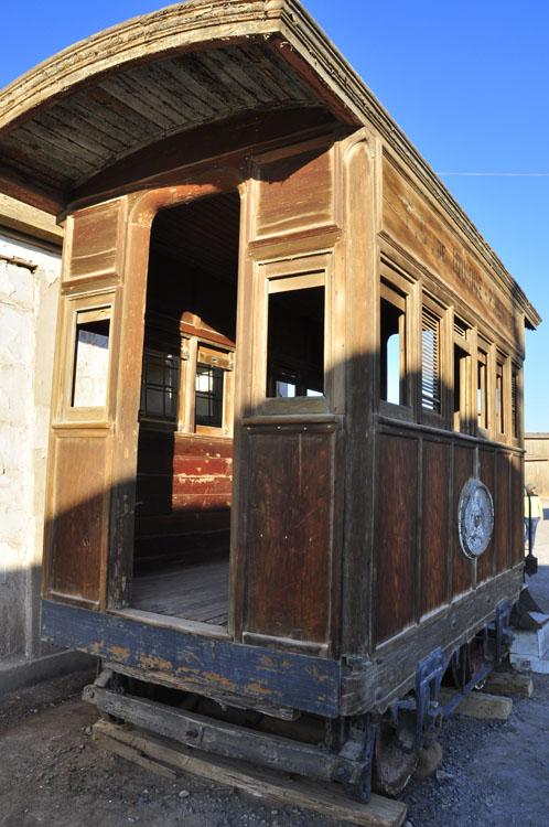 Humberstone, vieux wagonnet