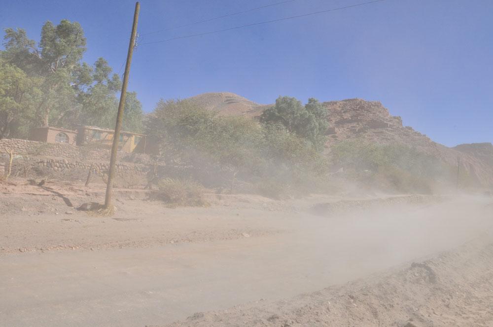 Du vent à San Pedro de Atacama