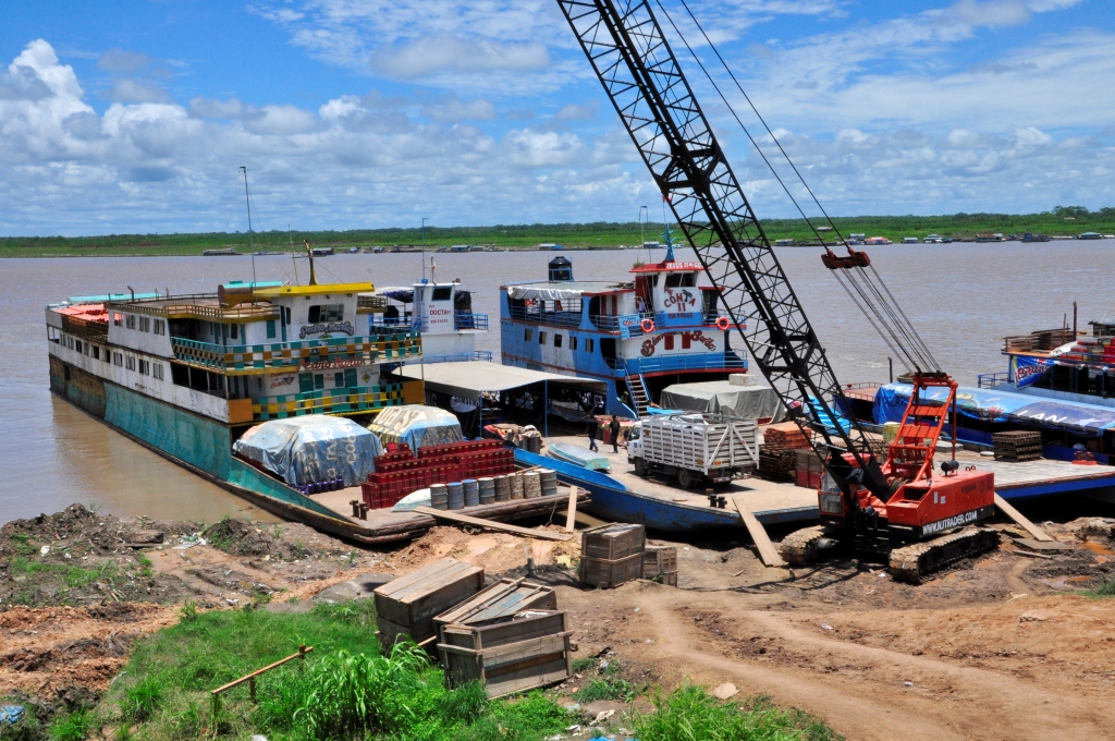 Le port de Pucallpa