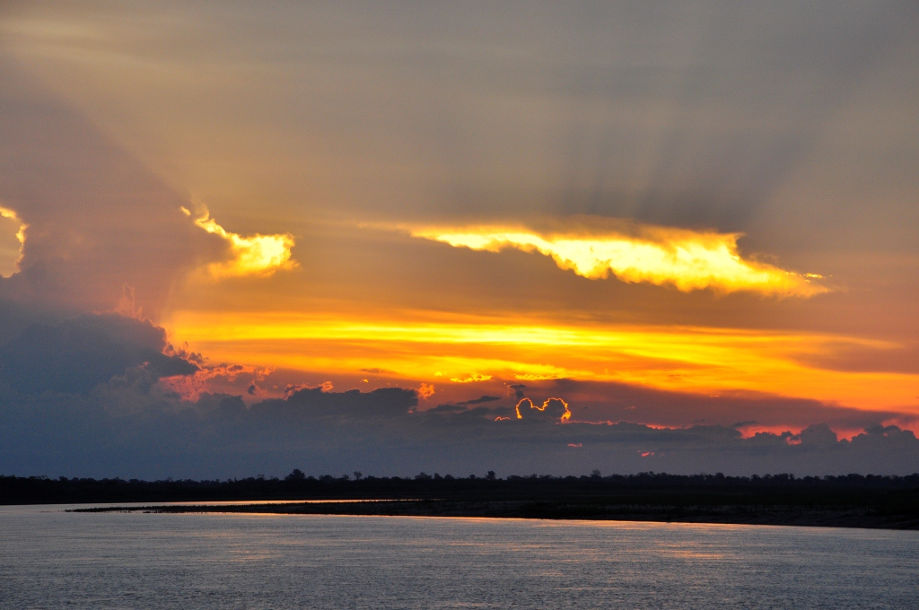 Premier coucher de soleil