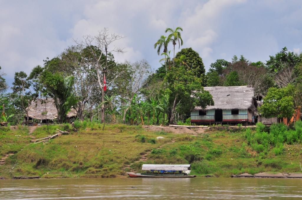 Sur l'Amazone, en route pour la jungle !